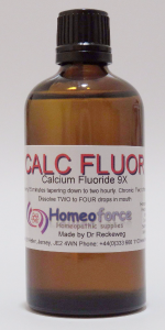 #1 CALC FLUOR  Tissue (cell) salt LACTOSE FREE DROPS