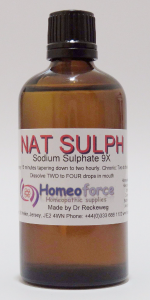 #11 NAT SULPH Tissue (cell) salt LACTOSE FREE DROPS