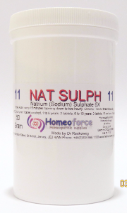#11 NAT SULPH Tissue (cell) salt SOFT TABLETS