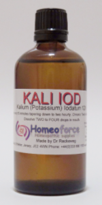 #15 KALI IOD Tissue (cell) salt LACTOSE FREE DROPS