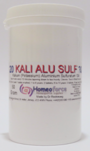 #20 KALI ALUM SULF Tissue (cell) salt SOFT TABLETS