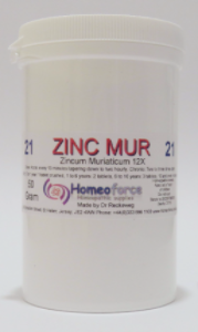 #21 ZINC MUR Tissue (cell) salt SOFT TABLETS