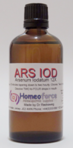 #24 ARSEN IOD Tissue (cell) salt LACTOSE FREE DROPS