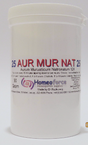 #25 AUR MUR NAT Tissue (cell) salt SOFT TABLETS