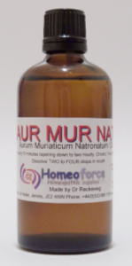 #25 AURUM MUR NAT Tissue (cell) salt  LACTOSE FREE DROPS