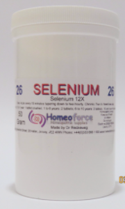 #26 SELENIUM Tissue (cell) salt SOFT TABLETS