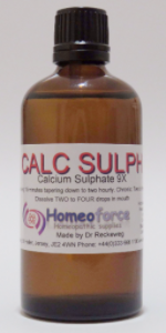 #3 CALC SULPH Tissue (cell) salt LACTOSE FREE DROPS