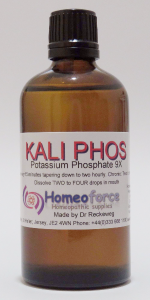 #6 KALI PHOS Tissue (cell) salt LACTOSE FREE DROPS
