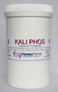 #6 KALI PHOS Tissue (cell) salt SOFT TABLETS